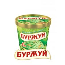 """Морозиво буржуй """"фисташка-мигдаль"""" у відерці 250г"""