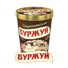 """Морозиво буржуй """"страчателла"""" у відерці 500г"""