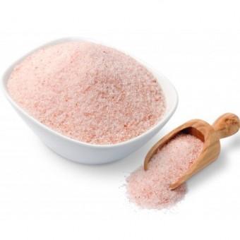 Сіль гімалайська рожева дрібного помолу