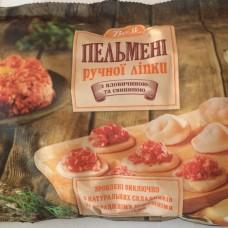 """Пельмені яловичина/свинина """"вам"""" 400г"""