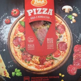 "Піца ковбаса та гриби ""Вам"" 380г"